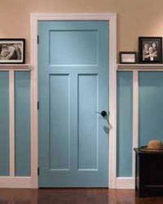 TM Cobb interior door
