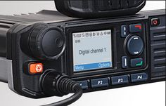 Hytera MD785/MD785G Easy to use digital mobile radio with ergonomic design.