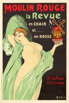 Vintage Advertisements, Vintage Ads, French Vintage, Art Nouveau Poster, Art Deco Posters, La Belle Epoque Paris, Ex Libris, Moulin Rouge Show, Vintage Illustration Art