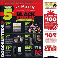 We just posted the JCPenny #BlackFriday2014 ad!
