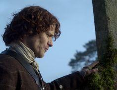 "Jamie Fraser (Sam Heughan) in Episode 213 ""Dragonfly In Amber"" Outlander Season Two Finale on Starz via  https://outlander-online.com/"