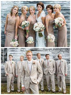 Bridal party bridesmaids groomsmen poses pose ideas © Purrington Photography Bemidji Wedding Photographer