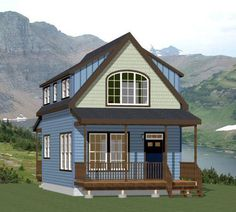 18x30 Tiny House -- #18X30H7I -- 999 sq ft - Excellent Floor Plans