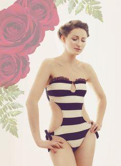 Renza FrouFrou Monokini Swimsuit $110