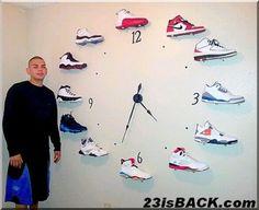 Nike shoe clock or basketballs