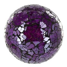 Purple Decorative Balls Discoball White  Mirror Mirrorball  Pinterest  Discos Disco