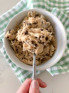 This Edible Cookie Dough recipe is so good you'll eat it in one sitting! Whip up a bowl of eggless cookie dough that takes just minutes to prepare.