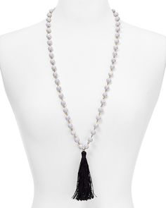 "BAUBLEBAR Bali Tassel Necklace, 32"""