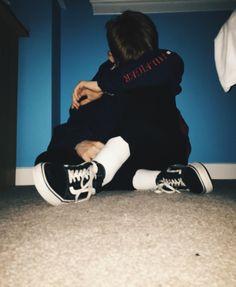 d794bbf4b8e Hilfiger pullover jacket - tailored black chinos - Champion socks - Vans  old school http