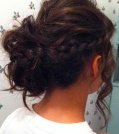 I'm not sure if I want an updo or not for prom... Lord knows I have time to figure that out haha.