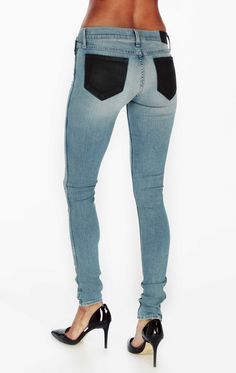 The Wildfox Jeans Lily in Soulmates