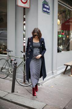 look-automne-chic-manteau-militaire-bleu-marine-les-petites-robe-grossesse-envie-de-fraises-the-brunette-blog-mode-paris-3