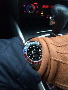 """New arrival! My Rolex GMT Master """"Pepsi"""""""