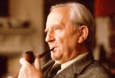 Tolkien Biography - J. Tolkien is the wildly imaginative author of The Lord of The Rings fame. One of the greatest writers of the century, Tolkien's talents were Jrr Tolkien, Tolkien Books, Inspirational Lines, Christian Kids, University Professor, What Book, High Fantasy, Middle Earth, Lord Of The Rings