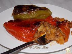 Полнети пиперки со грав и мелено месо - Moirecepti