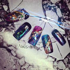 琉璃石紋x暈色  #3dgel  #nailart #nail #naildesign #nails #design #art #girls #手描きアート #instasize #ジェルネイル #네일 #네일아트 #指甲 #美甲 #ネイル #ネイルサロン #ネイルデザイン #ベラフォーマ #ベトロ #光療凝膠 #光療  #hestia #vivian