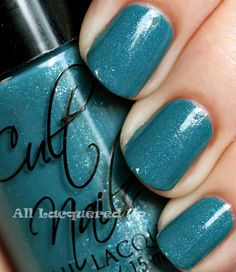 cult nails let me fly nail polish swatch from the cult nails a day at the races collection #cultnails #JointheCult