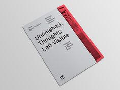 Plain simple cover with easy to read text. Plus a bright color inside that makes you want to open it. https://www.behance.net/gallery/36857579/AFIM-2016-Spring-Luncheon AFIM 2016 Spring Luncheon on Behance