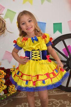 Vestido Amarelo Sun - Caipira Chic INFANTIL - comprar online