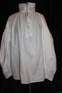 18th Century shirt pattern