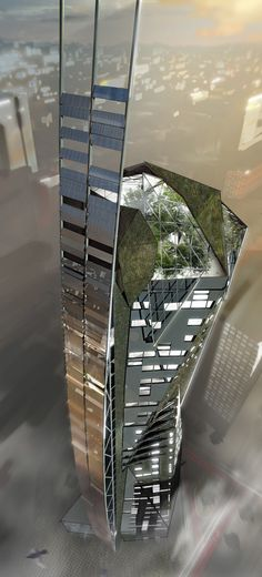 Pavlo Kryzovob: My Concil on Tall Buildings and Urban Habitat competition entry.