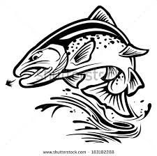 Image result for drawings of brown trout