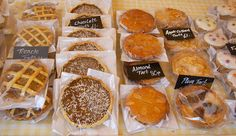 cakes at Huddersfield Farmers Market