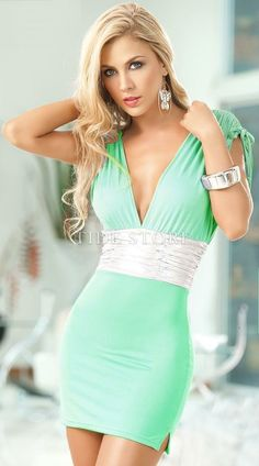 US$84.99 Elegant Sensible Reseda Spandex Clubbing Girl Lingerie Fashion Clubwear. #Sexy #Reseda #Spandex #Fashion