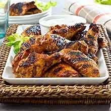 By region. sub: all recipes. sub: creations. sub: by region. sub: favorites Healthy Grilling Recipes, Grilled Steak Recipes, Cooking Recipes, Health Recipes, Chipotle Chicken Wings Recipe, Chicken Wing Recipes, Goya Recipe, Healthy Snacks For Adults, Poultry