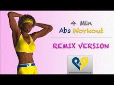 ▶ Abdominales en 4 minutos para mujeres (Versión REMIX) - YouTube