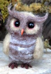 little owl baby in www.harthicune.etsy.com on sale