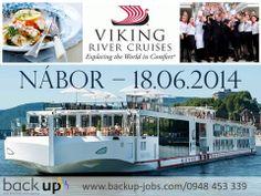 VÝBEROVÉ KONANIE/ VIKING RIVER CRUISES - 18.06.2014 v Bratislave  Radi by sme Vás pozvali na výberové konanie TOP lodnej spoločnosti Viking River Cruises, ktoré sa uskutočni 18.06.2014 prostredníctvom našej agentúry backup jobs agency v Bratislave.   Prihlásiť sa môžete jednoducho E-mailom na info@backup-jobs.com a viac informácii Vám radi poskytneme na tel. čísle 0948 453 339