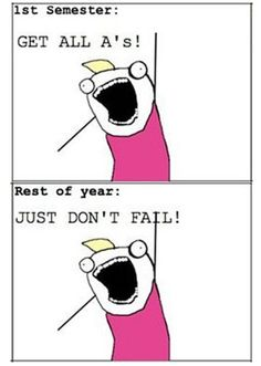 3 weeks into the semester and this is how I feel already, lol.