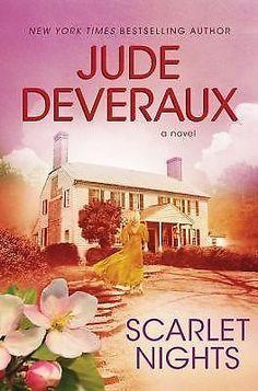 Scarlet Nights by Jude Deveraux 2010 Hardcover 1439107971 | eBay