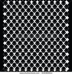 Background white and black decorative abstract cells isolated art creative modern vector