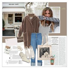 """#streetstyle"" by stylemeup-649 ❤ liked on Polyvore featuring Polaroid, MaxMara, Topshop Unique, UGG, E L L E R Y, Converse and Bella Freud"
