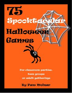 Looking for an activity for your Halloween party? Are you a room mom looking for some new ideas? 75 SPOOKTACULAR HALLOWEEN GAMES is just what you need. As a former room mom myself, I have compiled 75 games that work for school age children, teens or adults. Last minute party planners have no fear - this INSTANT DOWNLOAD will have you partying in minutes. Games include age suggestions and supply list. Please note that this is for an INSTANT DOWNLOAD file. No game sheets will be mailed…