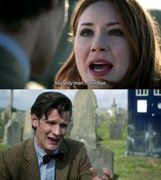 Raggedy man goodbye.  The way the Doctor cried broke my heart :'(