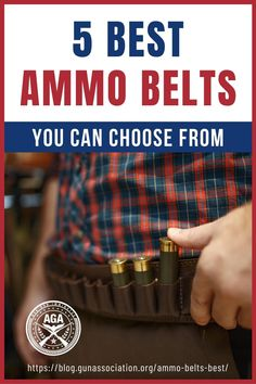 Having the right ammo belt with you during your hunting spree can spell the difference between bringing game home or wasting your day. Check out the best ammo belts to choose from below. #ammobelt #ammunition #hunting #guns #firearms #gunassociation How To Make Diy Projects, Ammo Storage, Black Hold, Utility Pouch, Hunting Guns, To Loose, Guns And Ammo, Survival Tips, Swords