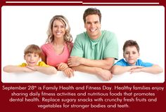 September 28th is Family Health and Fitness day