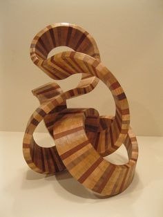 ampersand wood sculpture from the country woodworking shop on Etsy