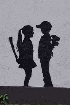 This piece of art featuring the iconic balloon girl reflects Banksy's dark humor. It's also one of his most popular pieces of art that will endure for a long time