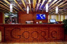 Google's Russia Offices in St. Petersburg and Moscow, both designed by Swiss firm, Camenzind Evolution