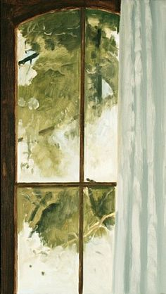 LOIS DODD Frosted Window (2009)