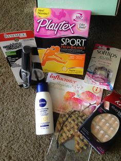 This newly box arrived, yay! The softlips cup is the only thing used so far. #SpringVoxBox