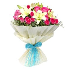 A gorgeously chic and fun gift for your someone special! Transport them with an enchanting floral world of their own with this floral masterpiece of roses and lilies. This flower bouquet will brighten their day with pops of beautiful colours. Arrangement Includes: - See more at: http://ramiflorist.com/product-detail/Valentine%20Day%20Special/lovers-birds.aspx#sthash.xWudNkH7.dpuf