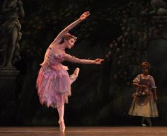 Melissa Hamilton as Summer Fairy in Frederick Ashton's Cinderella by the Royal Ballet. Photo by John Ross