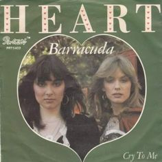 Heart - Barracuda - Original Vinyl Single - Portrait - PRT 5402