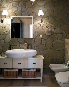 Rustic modern bathrooms on pinterest rustic chic for Sanitarios modernos