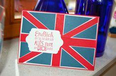 Heike's Stempel-Werkstatt: Für einen England - Fan